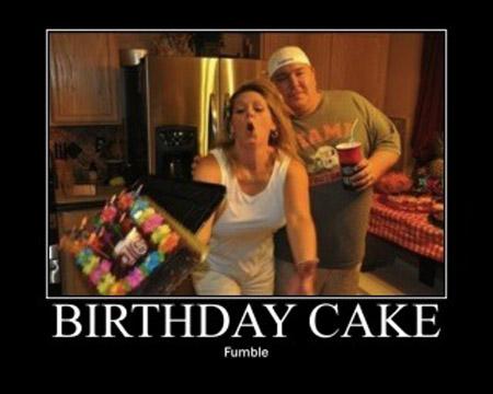 Birthday Cake Joke Image : LOLHeaven.com Birthday cake fumble?